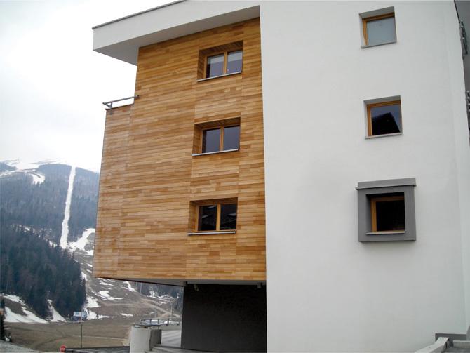 Drvena stolarija na hotelsko-ugostiteljskom objektu na Bjelašnici, BiH