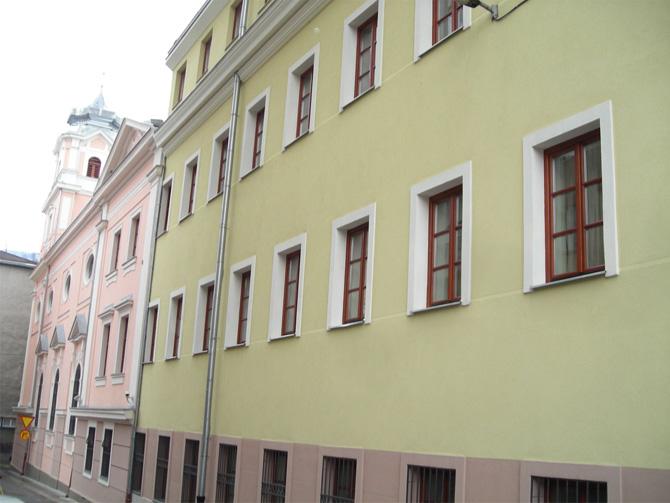 Drvena stolarija - prozori na Katoličkom školskom centru (KŠC) Sarajevo (BiH)