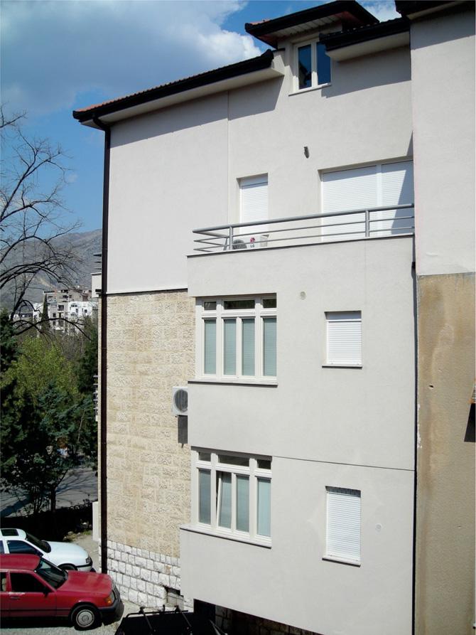 Drvena stolarija na stambenom objektu - Mostar