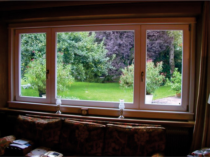 Trokrilni prozor u Vancouveru, Kanada