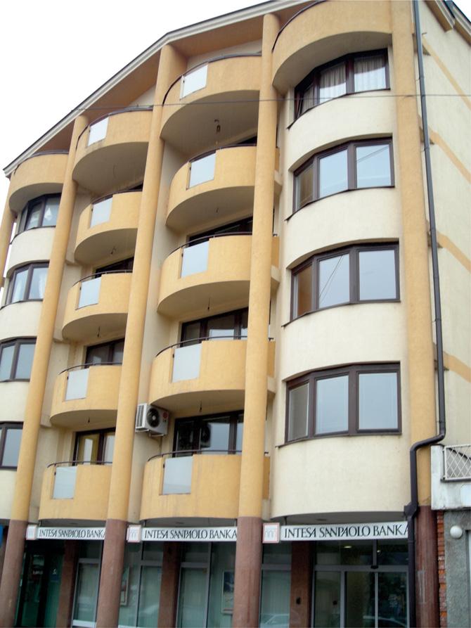 Stolarija Kontinental na zgradi u Kiseljaku